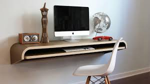 Modern Wall Desk Custom Modern Wall Mounted Folding Computer Desk Ideas
