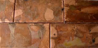 Copper Tiles For Kitchen Backsplash Interior Copper Backsplash Kitchen Tile Ideas Hammered Copper