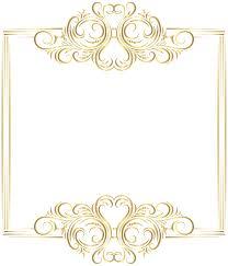 Decorative Frame Png Images Of Gold Colored Decorative Frame Sc