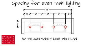bathroom vanity lighting design how to light a vanity correctly a lighting design how to