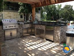 Brinkmann Backyard Kitchen by New Custom Outdoor Kitchens Taste