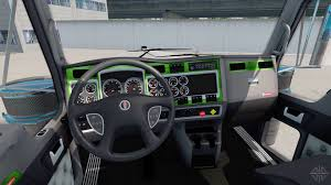 kw w900l for sale interior green gray for kenworth w900 for american truck simulator