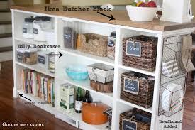 kitchen island with shelves furniture mesmerizing diy ikea hack kitchen island with