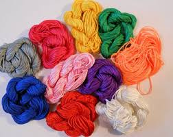 knotting cord 42 colors available 0 8mm knotting cord braided