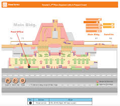 narita airport floor plan delivery and return u2013 rent a pocket wifi in japan