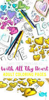 color pages hearts wings halo coloring pictures roses