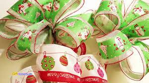 goodwill christmas bow diy youtube
