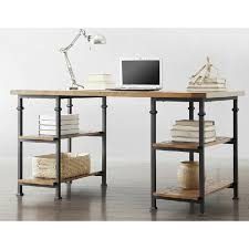 country vintage wrought iron wrought iron wood desktop computer