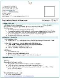 resume sle for freshers download good sle resume for mba finance freshers 41 about remodel free