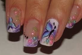 60 most beautiful butterfly nail art design ideas