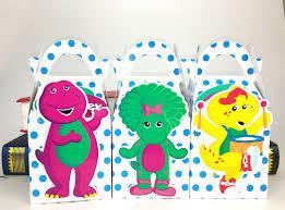 Diy Barney Decorations Barney The Dinosaur Birthday Party Supplies Best Image Dinosaur 2017