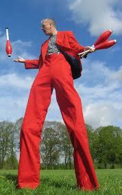 stilts clown steve kaos circus entertainer