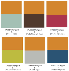 what colors go with orange g eous colorpalette color love orange