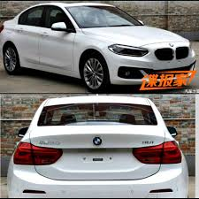 bmw one series india bmw 1 series sedan spotted