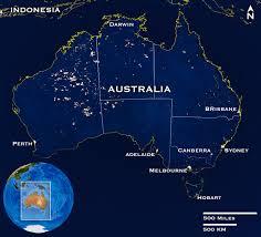 australia satellite map nasa photo of the week