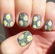 imagenes de uñas pintadas pequeñas 50 flower nail art designs pequeño lienzo uñas pequeñas y uñas