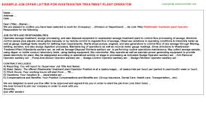 Wastewater Treatment Plant Operator Resume Wastewater Treatment Plant Operator Job Title Docs
