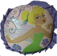 Tinkerbell Rug Bedding Pillows Fairies Tinkerbell Decorative Pillows Kids Whs