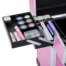 Vanity Box Makeup Artistry Hst Extra Large Beauty Trolley On Universal Wheels Cosmetic Case