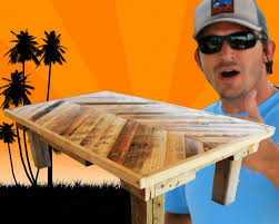 How To Make A Wooden End Table by How To Build A Coffee Table Out Of Pallet Wood Project 5 Paint