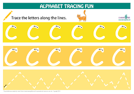 letters to print and trace alphabet letters tracing mats standard print learning 4
