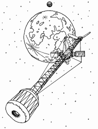 cool space coloring pages book design kids 6371 unknown