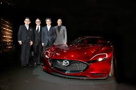 mazda automobile mazda rx vision named most beautiful concept inside mazda
