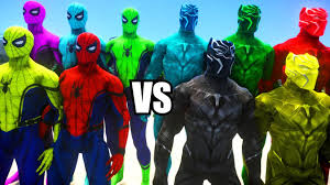 Black Panther Marvel Halloween Costume Spiderman Civil War Suits Colors Army Black Panther Colors Army