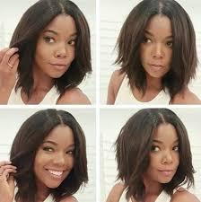 center part bob hairstyle choppy bob hairstyle for black women