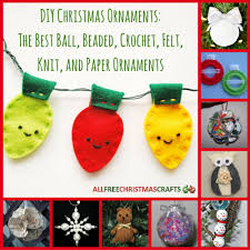 diy ornaments the 36 best beaded crochet felt