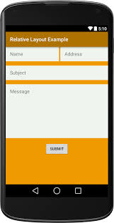 android layout android relative layout exle viral android tutorials