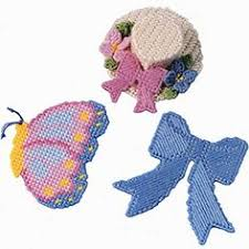 plastic canvas bows not a pattern just the picture for ideas