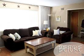 living room wall colors to match brown furniture