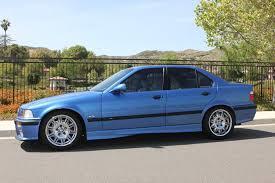 bmw e36 m3 estoril blue 1997 e36 m3 sedan estoril blue auto clean socal 8k e46fanatics