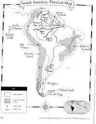 Physical Map South America by South America Physical Map Freeworldmapsnet South America
