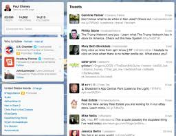 layout of twitter page understanding twitter s new redesign practical ecommerce