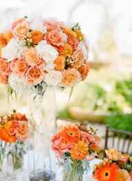 wedding flowers queanbeyan bright orange malibu wedding bright and flowers
