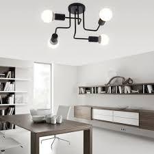 Wohnzimmer Lampe E27 Deckenleuchten Vintage Lampen Für Wohnzimmer Iluminacion