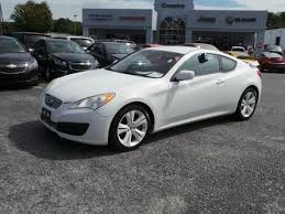 hyundai genesis coupe 2010 used used hyundai genesis coupe for sale in wilmington de edmunds