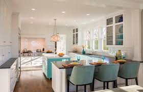 turquoise kitchen houzz