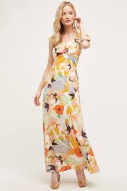 harlyn gilded garden maxi dress in yellow lyst