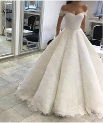 wedding dresses the shoulder sleeves gown shoulder sleeves lace wedding dress