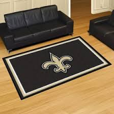 New Orleans Saints Rugs New Orleans Saints 4x6 Rug