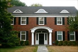 Colonial House Style Housetalkn A Brick Colonial House Tour Home Sweet Home
