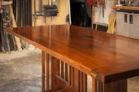 Arts And Crafts Dining Room Furniture by Arts And Craft Dining Table By Scott Parsons Lumberjocks Com