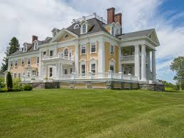 colonial mansion a stately colonial style mansion in burke vermont is on the market