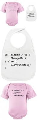 baby registry gifts baby gifts coding for babies programmer baby bib light