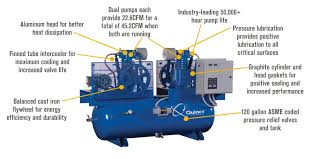 free shipping quincy duplex air compressor 7 5 hp 230 volt 1