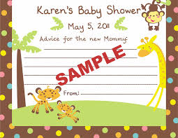 Jungle Theme Invitation Card Fisher Price Baby Shower Invitations Theruntime Com
