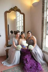 a purple ombre and floral wedding dress love my dress uk